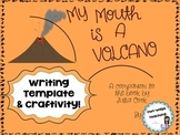 Back to School/Yelling Out/ My Mouth is a Volcano Craftivity