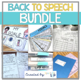 Back to Speech BUNDLE