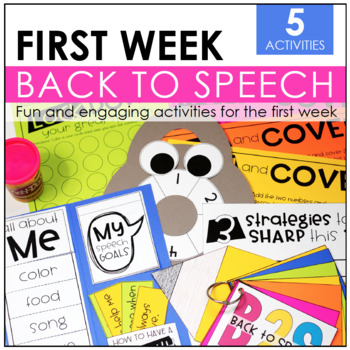 Back to Speech: Five Interactive Activities
