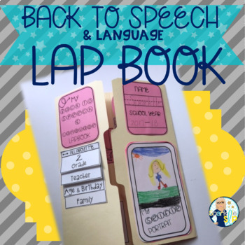 Back to Speech and Language Lap Book