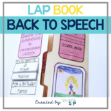 Back to Speech Therapy Lap Book