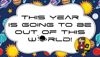 Back to Student Gift Tag | Out of this World