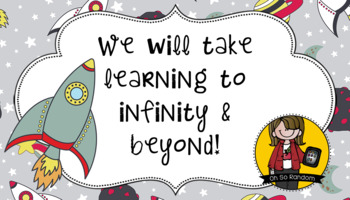 Back to Student Gift Tag | Infinity & Beyond