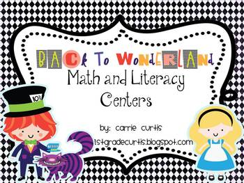 Back to Wonderland: Math and Literacy Centers