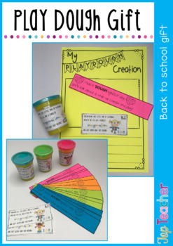 Back to school play dough pack