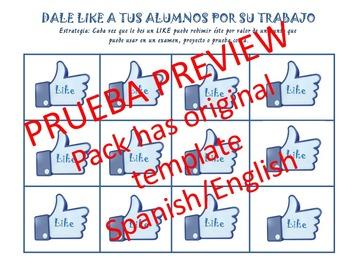Back to school 2015-2016 Likes/Dándole Likes a tus estudiantes