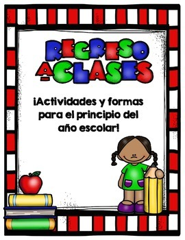 Back to school Activities and more -Spanish