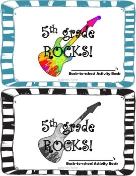 Back-to-School: 5th Grade