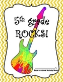 Back-to-School: 5th Grade