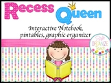 Back to school Activity: Recess Queen First week Interacti