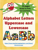 Back to school Alphabet Letters, include Ñ and ñ