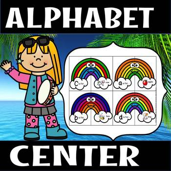 Back to school - Alphabet rainbow center