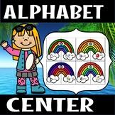Back to school - Alphabet rainbow center