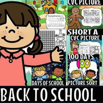 Back to school/kindergarten/Literacy and math