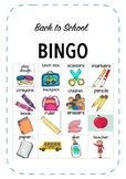 Back to school: BINGO