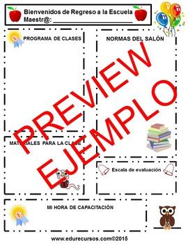Back to school: Boletín informativo para padres y estudiantes