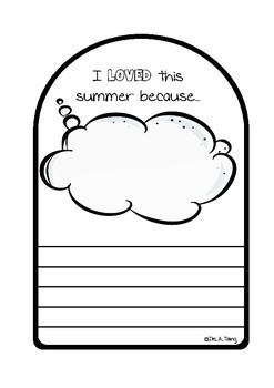 Back to school Craft - Goodbye Summer - Popsicle