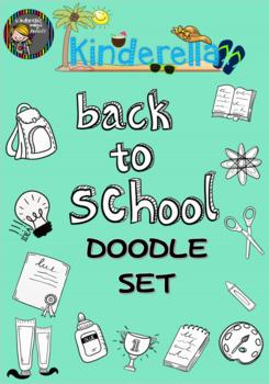 Back to school DOODLE SET!