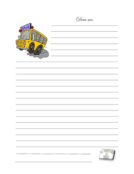 Back to school - 'Dear me' letter