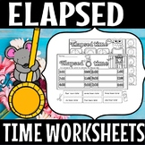 Back to school- ELAPSED TIME(50% off for 48 hours)