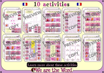 Back to school complete French bundle - games, decorations and activities