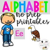 Back to school Letter of the Week Alphabet- Letter Ee