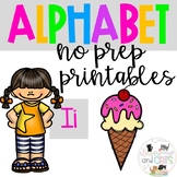 Back to school Letter of the Week Alphabet- Letter Ii