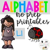 Back to school Letter of the Week Alphabet- Letter Ll