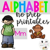 Back to school Letter of the Week Alphabet- Letter Mm