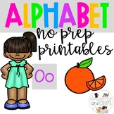 Back to school Letter of the Week Alphabet- Letter Oo