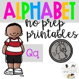 Back to school Letter of the Week Alphabet- Letter Qq