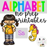 Back to school Letter of the Week Alphabet- Letter Ss