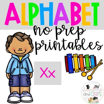 Back to school Letter of the Week Alphabet- Letter Xx