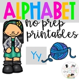 Back to school Letter of the Week Alphabet- Letter Yy