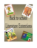 Back to school Literature Extentions