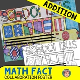 Back to School Math + Art Integration Activity: Addition Review Poster