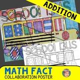 Back to School Math + Art Integration Activity: Addition R