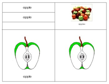 Count and clip~Montessori: Apple Bundle