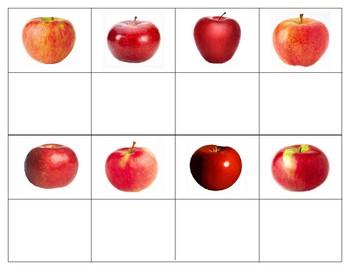 Back to school Montessori: Apple Bundle