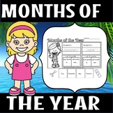 Back to school -Months of the year
