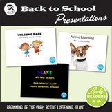 Back to school PowerPoint presentations - Procedures! Expe