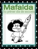 Back to school CI + Scaffolding: Primer día de escuela de Mafalda