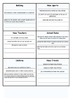 Back to school Printable Gameboard - Harry Potter Edition