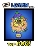 Top Dog LEARNING STYLE INVENTORY & GLYPH - Fun beginning-of-the-year CRAFTIVITY!