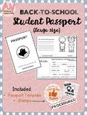 Back-to-school Student Passport Activity