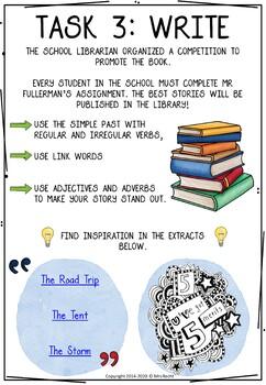 Back to school - Tom Gates Cursive Reading