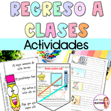 Back to school activities in Spanish/ Todo sobre mi/ All a