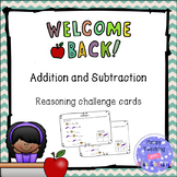 #StartFreshBTS Back to school - addition and subtraction r