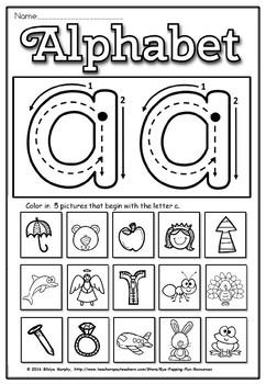 Back to school alphabet sample(FREE)