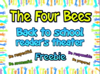 Free Back to school class expectations reader's theater sc